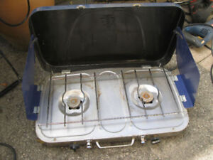 blue gas stove very good condition or best offer
