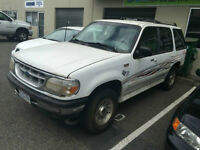 1995 Ford Explorer. One owner. 224 000 kms. Leather interior.