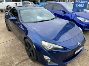 2013 Toyota 86 ZN6 GTS Blue 6 Speed Manual Coupe Wickham Newcastle Area Preview
