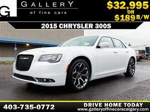 2015 Chrysler 300S w/Beats $189 bi-weekly APPLY NOW DRIVE NOW