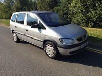 2005 Vauxhall Zafira 1.6 7 seater mpv 12 months mot 7 seats