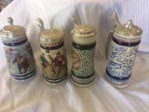 Avon Vintage Beer Steins - $30.00 for all of them