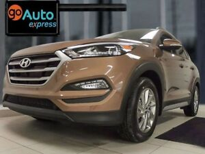 2017 Hyundai Tucson Luxury with heated leather seats all through