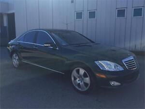 2008 MERCEDES BENZ S450 4MATIC SUNROOF NAVIGATION