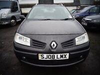 2008 Renault Megane 1.5 Diesel Estate Car MOT'd April £595