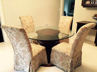 Bombay Company Dining table and 4 chairs
