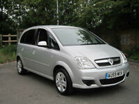 VAUXHALL MERIVA 1.6 16V ACTIVE 2009 (59) A/C IN SILVER ONLY 33,244 MILES FSH!!!!