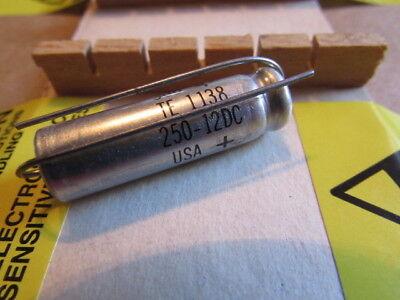 250uf 12dc Sprague 30d Te-1138 Usa Axial Capacitor 1 Piece 250uf 12v Nos Usa