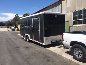 2014 Wells Cargo EW2025 Enclosed Trailer 13200 GVW