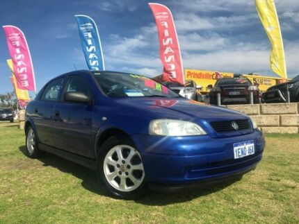2005 Holden Astra TS MY05 Classic Blue 5 Speed Manual Hatchback
