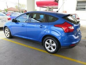 2013 Ford Focus LW MKII Ambiente PwrShift Blue 6 Speed Sports Automatic Dual Clutch Hatchback West Footscray Maribyrnong Area Preview