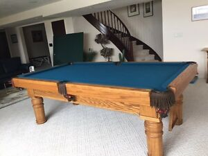 pool table with ping pong