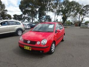 2003 Volkswagen Polo 9N Elite Red 5 Speed Manual Hatchback Warwick Farm Liverpool Area Preview
