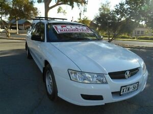 2007 Holden Crewman VZ MY06 Upgrade White 4 Speed Automatic Crew Cab Utility Prospect Prospect Area Preview