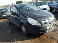 corsa d 3 dr breaking for spares