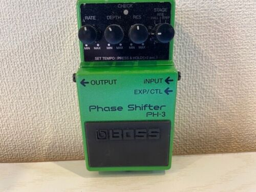 Boss PH3 Phaser Guitar Effect Pedal free shipping arrive quickly 【Junk!】