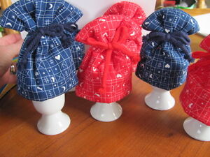 Reversible Hand quilted Egg Cozies Kingston Kingston Area image 1