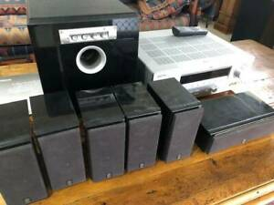 Yamaha Home Cinema 6.1 Speakers (with Amplifier Receiver)