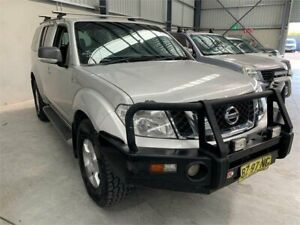 2012 Nissan Pathfinder R51 MY10 ST Silver Manual Wagon Boolaroo Lake Macquarie Area Preview