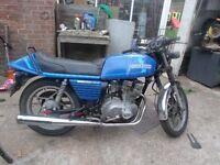 1982 SUZUKI MOTORCYCLE