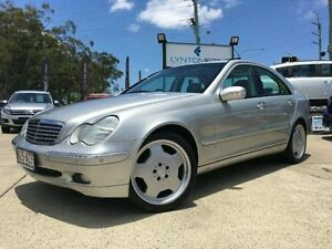 2001 Mercedes-Benz C180 W203 Elegance Silver Automatic Sedan Southport Gold Coast City Preview