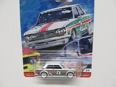 Hot Wheels - CAR CULTURE - '71 DATSUN 510 w/ Real Riders