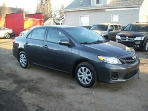 2012 Toyota Corolla AUTO/4DOOR/LOW PAYMENTS Edmonton Edmonton Area image 1