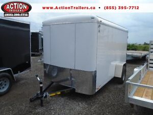 LOW PRICE CONSTRUCTION TRAILER 2017 ATLAS 6 X12 CARGO DISCOUNTED