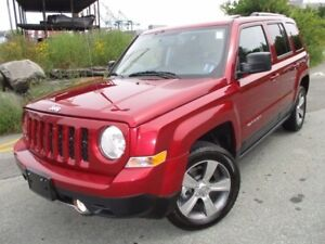 2016 Jeep PATRIOT HIGH ALTITUDE (4X4, HEATED LEATHER SEATS, MOON