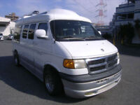 FRESH IMPORT LATE 2001 DOGE RAM DAY VAN AUTOMATIC CHEVROLET EXPRESS ASTRO GMC
