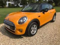 2015 (15) Mini 1.5 Cooper PETROL AUTOMATIC ( Chili ) ( s/s ) ONLY 8,500 MILES