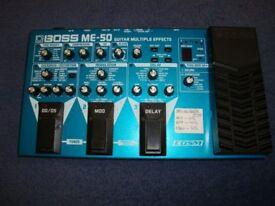Boss Me 50 Guitar Multi Effects