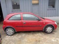 Vauxhall Corsa 1.0 i Life 3dr , LOW TAX ,MOT 7-2-17