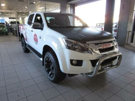 2014 Isuzu D-MAX LS-U Splash White Automatic Utility Thornleigh Hornsby Area Preview