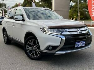 2015 Mitsubishi Outlander ZK MY16 LS (4x2) White Continuous Variable Wagon Cannington Canning Area Preview