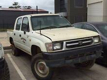 WRECKING - 2000 Toyota Hilux LN167 4x4 Manual Diesel Dual Cab Werribee Wyndham Area Preview