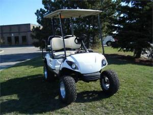2009 Yamaha Drive Custom Lifted Golf Cart