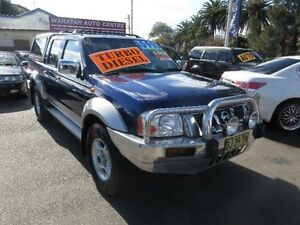 2004 Nissan Navara D22 ST-R (4x4) Blue 5 Speed Manual Dual Cab Pick-up Waratah Newcastle Area Preview