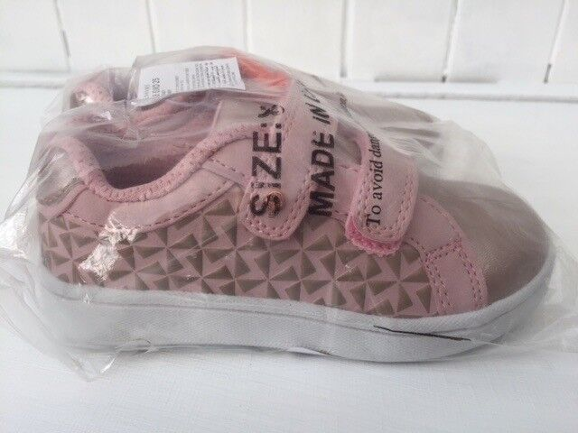 New Pair of Girl's Trainers Size 8 Ted Baker/Debenhams