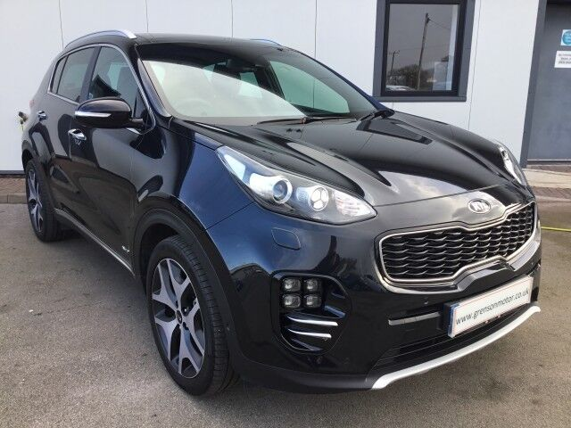 kia sportage 2 0 crdi gt line s 5dr automatic black 2017 in crewe cheshire gumtree. Black Bedroom Furniture Sets. Home Design Ideas