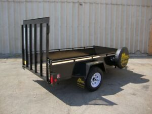 5'x10' Homeowner Package Utility Trailer - Canadia