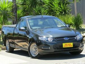 2014 Ford Falcon FG MkII EcoLPi Ute Super Cab Grey 6 Speed Automatic Utility