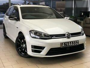 2015 Volkswagen Golf VII MY16 R DSG 4MOTION Wolfsburg Edition White 6 Speed Belconnen Belconnen Area Preview