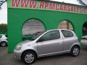 2002 Toyota Echo NCP10R Silver 5 Speed Manual Hatchback Nailsworth Prospect Area Preview