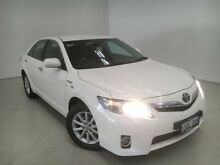 2011 Toyota Camry AHV40R MY10 Hybrid White 1 Speed Constant Variable Sedan Edgewater Joondalup Area Preview