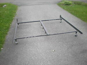 King Or Queen With Centre Support Steel Bed Frame