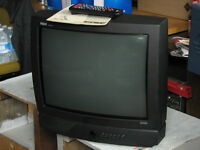 20 inch TV with manual and remote