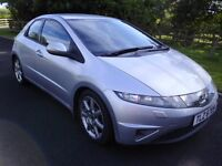 2006 HONDA CIVIC 2.2i-CDTi SPORT TURBO DIESEL ### 85000 MILES !!! ### TWO OWNERS FROM NEW ###