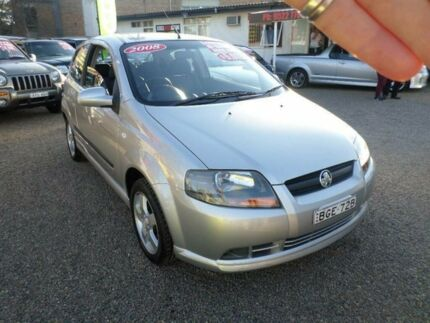 2008 Holden Barina TK MY08 Silver 5 Speed Manual Hatchback Sylvania Sutherland Area Preview