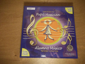 A great family game! Learn and have fun Pupil musician 8 years+